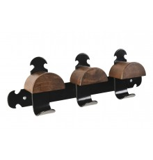 With its ancestry of the RETRO Bridle Rack, this is three times better! It enjoys all the style o...