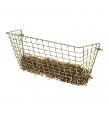 Small mesh distinguishes these feeders from conventional hay racks and, most importantly, haylage...
