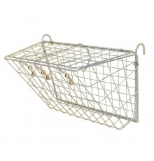 Ideal for feeding on fences and gates and will also prevent wastage within the field, it inc...