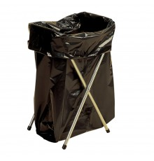 The easy way to fill sacks with stock or waste. Simple lightweight folding frame. Zinc coated ste...