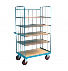 A real workhorse with 5 shelves and total capacity of 400kg, that is 80kg per shelf! As a large o...