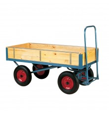 Only safety and imagination limit what can be carried on this highly manoeuvrable 4-wheeler. Blue...