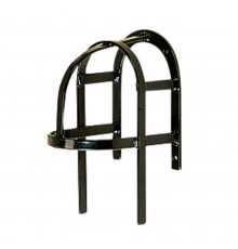 Black STUBBYFINE coated steel construction. Also available as a complete set of 4; please se...