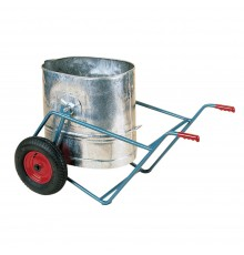 Carry water over rough terrain without excessive spillage due to the self levelling action of the...