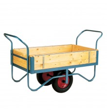 Slide in sides make this a most versatile workhorse; built for industrial hard work! Softwood bod...