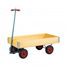 Whether carrying cones, markers, buckets of feed, bales, firewood or garden plants, this quickly ...