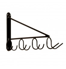 Ingenious and very space saving, the three rear hooks easily take forks, shovels and rakes whilst...