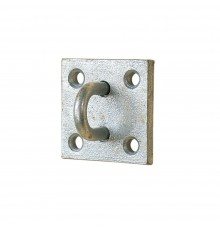Heavy duty attachment point for stall guards in doorways. Hot dip galvanised. 20mm x 14mm inside ...