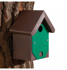 Smart and durable this has many unique features. Steel front plate (squirrel proof) contains 25mm...