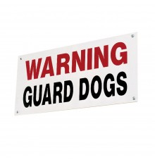 An eye catching deterrent to unwelcome visitors. Durable printing on 3mm plastic board.