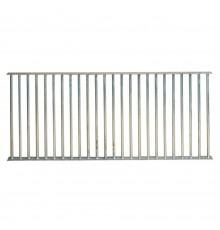 Heavy duty grilles designed to adapt to most popular stable sizes, or to provide limited openings...
