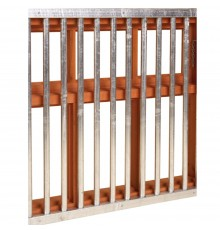 As easy as installing a one piece grille this has strong tubular bars that simply slot into the s...
