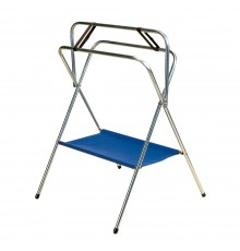 Ideal for travelling; with top bar lowered it is perfect for cleaning an inverted saddle. The vin...
