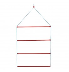 Useful in the tack room or at shows this is constructed from Red STUBBYFINE coated tube and synth...