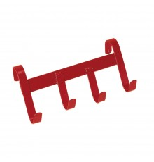 As useful at shows as at home, this 4 hook model will hang on fences, doors etc. Steel constructi...