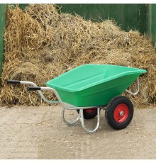 Lightweight and confident, mucking out can be exciting!