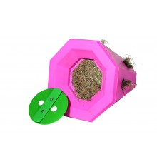 New simple twist lid increases feeding time  This is a great boredom breaker/slow feeder - and...