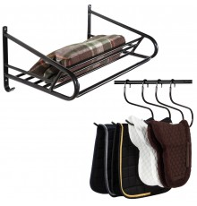 Same capacity as S2304 Luggage Rack but this comes with a strong rail on the front for hanging al...