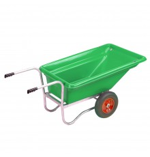Whether mucking out or carrying bales and sacks, this workhorse is formidable; it has become the ...