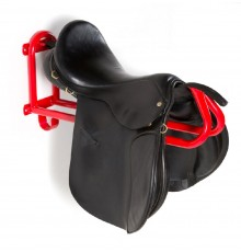 First ever soft saddle rack which actually supports the saddle's individual shape rather than h...