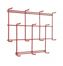 Perfect for house and tack room this unusual rack has 14 hanging points for everything from coats...