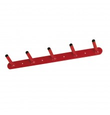 Large capacity hooks make this indispensable for the untidy tack room. Steel construction and STU...