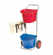 Carry three full S5PE mangers easily. In garden or warehouse too. All levels accessible due to sw...