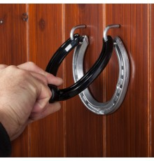 How can any real horse enthusiast resist such an atmospheric, stylish, and really practical door ...