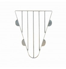 Matching simple drop-in section of galvanised steel construction to suit S3946 and S3941 Anti-Wea...