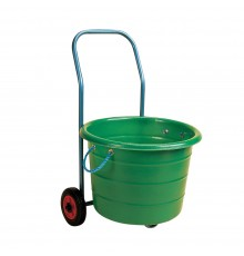 Lightweight trolley to carry the S44 manure basket. Can also make light work of firewood or other...