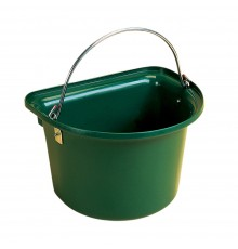 This will not slop against your leg like a round bucket. Galvanised handle and a tough yet lightw...