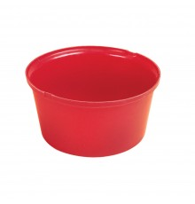 Probably the strongest plastic feed bowl available. Moulded in the usual tough STUBBYTHENE. White...