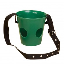 Particularly used by police and military units. 5cm wide over head strap with eyelets and buckle....