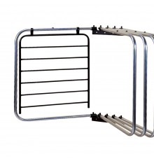 Slides on to an arm of either our S91 Five Arm Rug Rack or our S9111 Rug Master Mobile. Rust resi...