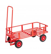 Smaller than the Mega Cart but still ready for work! 15cm high sides provide containment of sacks...