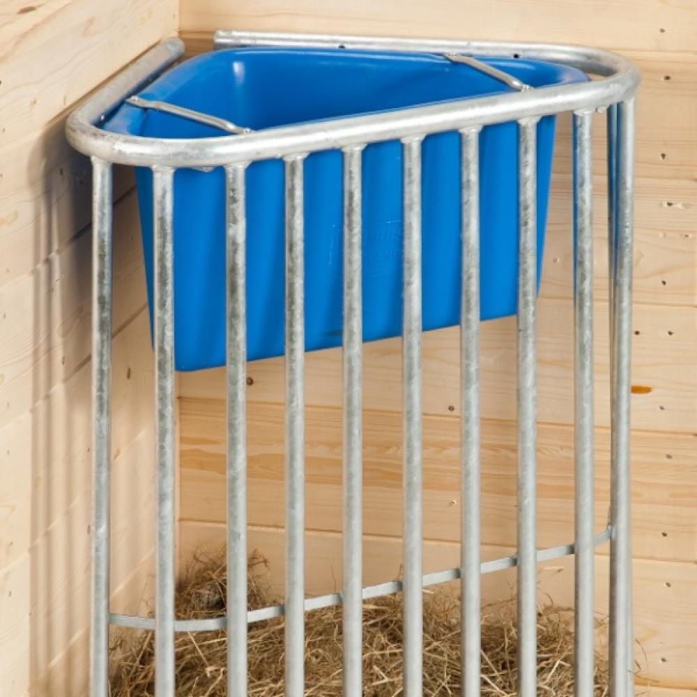 corner hay rack for horses