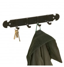 Old fashioned style and indispensable in everyones house and smart tack room. Strong Black STUBBY...