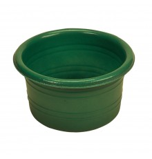 pot metal alonsiny round garden drinks large zinc planter com tub patio for new tubs ribbed