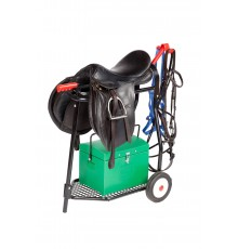 A smart design that folds down or rebuilds in less than 10 seconds. Designed to carry 2 bridles a...