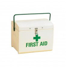 This permanently marked box is dependable. Reinforced lid, adjustable length, broad shoulder stra...