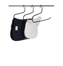 Hang up saddle cloths and numnahs on a dress rail easily. The designed balance is a slight forwar...
